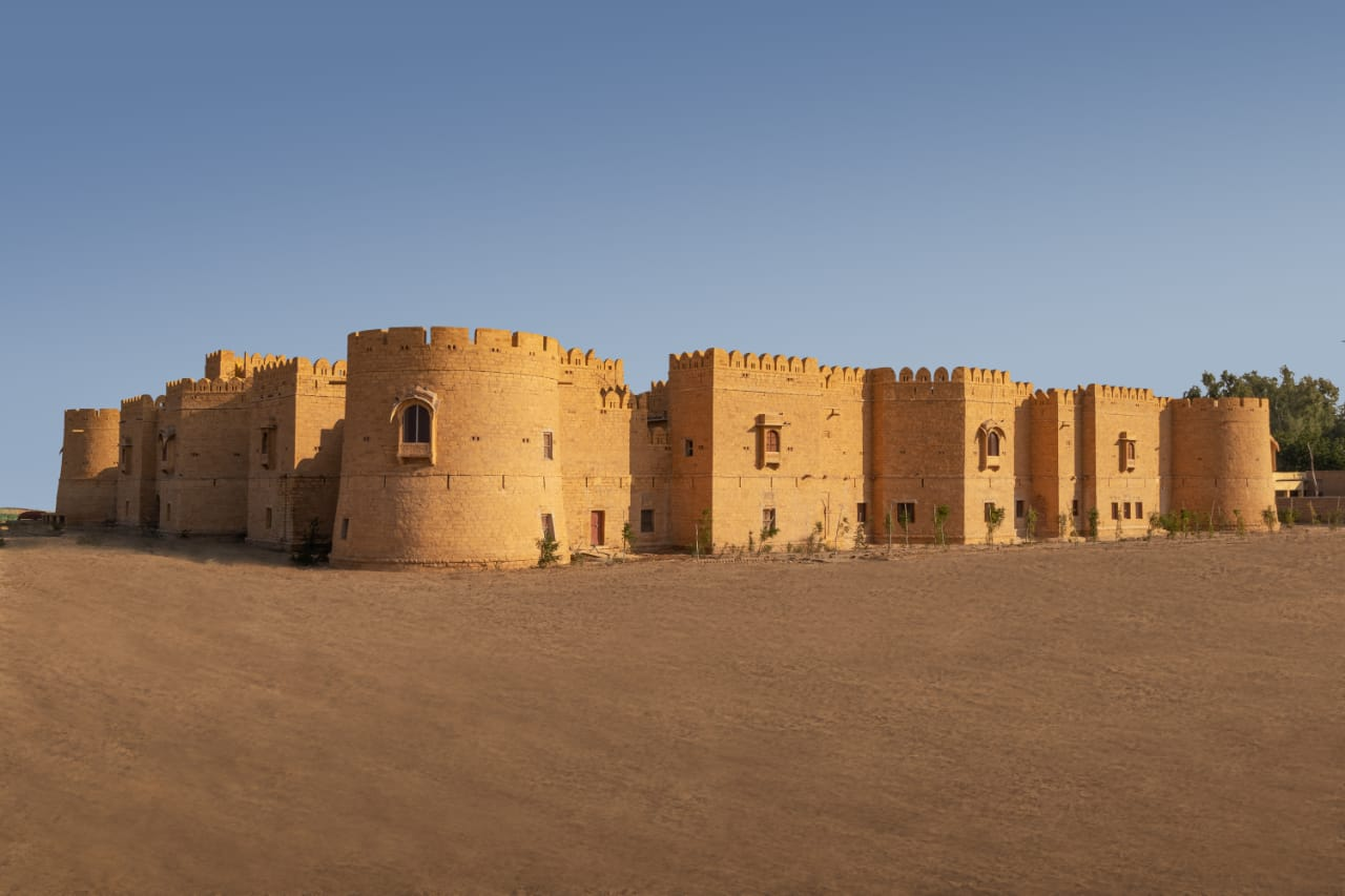 Back Facade Mohangarh Fort