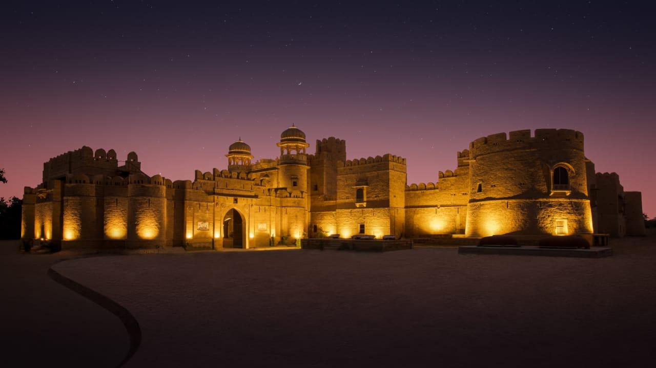 Mohangarh Fort Exterior View